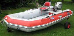 Dynamic Dolly Type 5 for Zodiac Style inflatable Boats