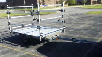 Trailer Conversion Rack for Boats and Sailboats