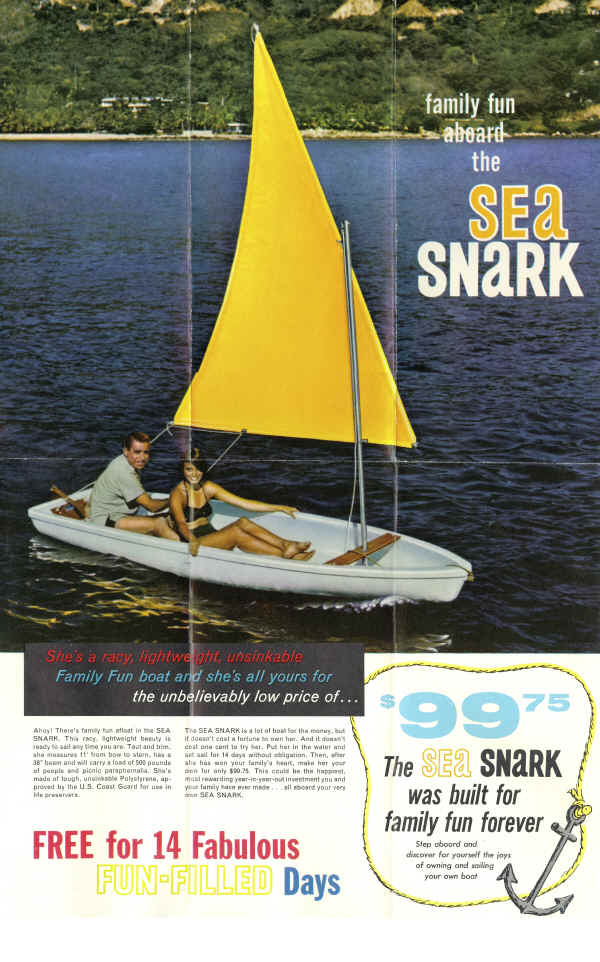 Snark Sea Super Snark Advertisement 1961