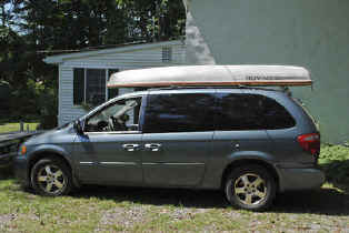 Super Snark Sailboat Car-Topped