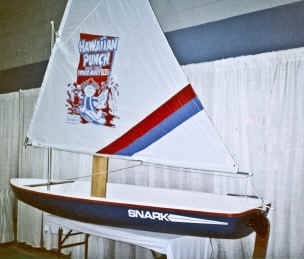 Super Snark Sailboat with Hawaiian Punch Logo Sail