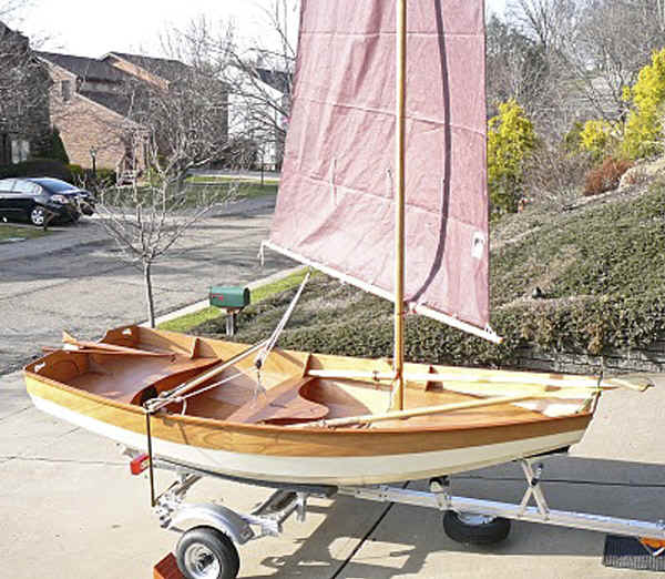 Trailex-SUT-250-S with a CLC Passagemaker Dinghy