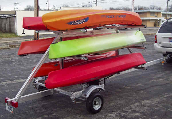 SUT-450-M6 Multiple Sailboard, Paddleboard, and Kayak Carrier