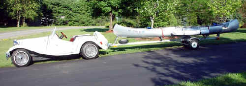 Car with Trailex SUT-200 & Grumman Canoe
