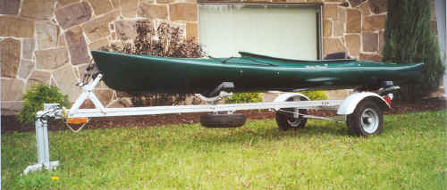 Trailex SUT-200 Trailer With Kayak