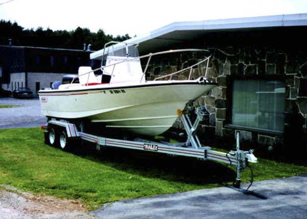 Trailex Trailer Designed for Up to 6000 Lb Boats