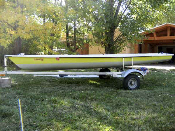 Trailex SUT-250L Trailer with Laser Sailboat