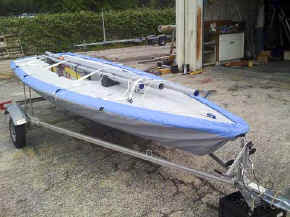 Trailex Model SUT-250L  Laser Sailboat Trailer
