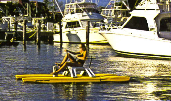Water Bike as a Tender
